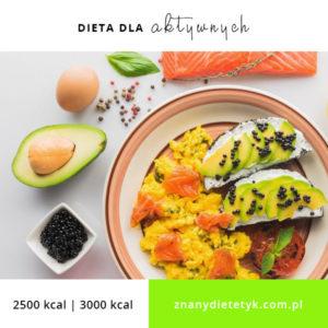 dieta sportowa, dieta dla aktywnych karmena łasicka znany dietetyk