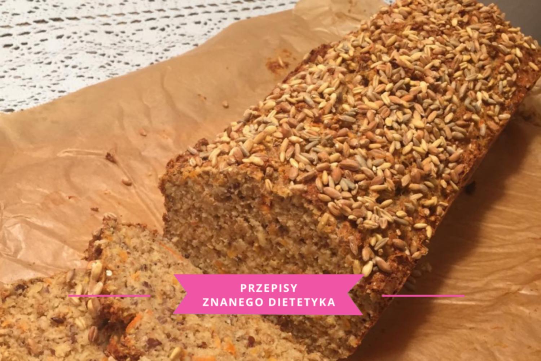 chleb bez mąki karmena łasicka znany dietetyk