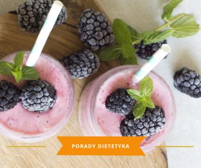 Natural mojo -szejki proteinowe karmena łasicka znany dietetyk