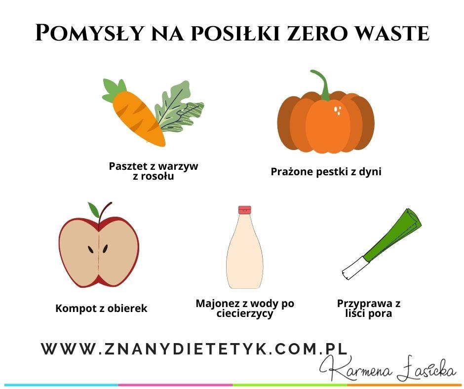 pomysły na posiłki zero waste
